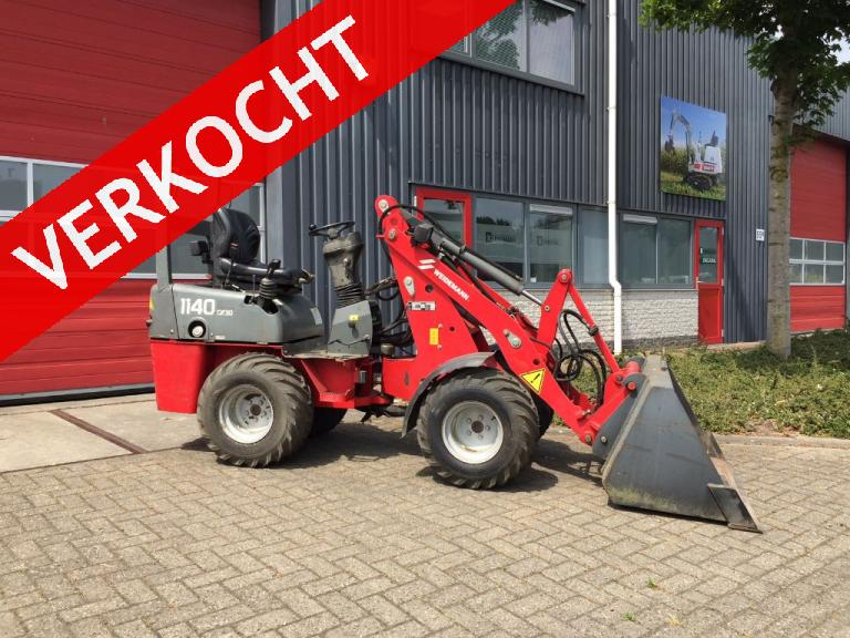 WEIDEMANN 1140 CX30 minishovel